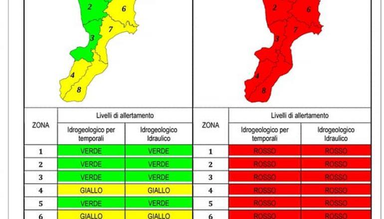 Un severo maltempo sta per colpire la Calabria Ionica