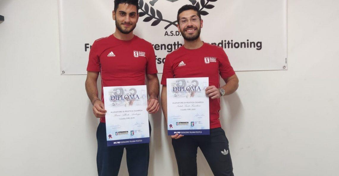 Due melitesi primi allenatori calabresi di Pesistica Olimpionica