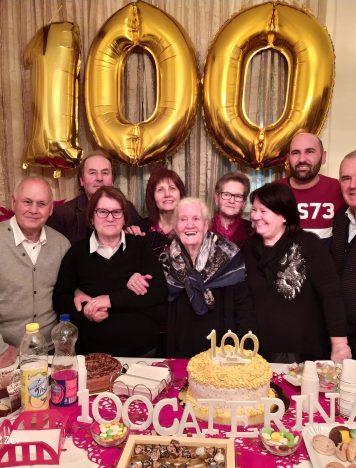 100 anni di nonna Caterina Mazzei di Lamezia Terme