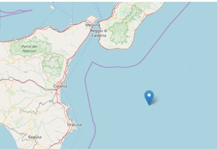 terremoto mar jonio