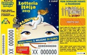 Lotteria Italia 2020: in Sicilia e Calabria vinti 11 premi