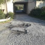 Dissesto stradale Borgata Sant'Elia - Porto di Saline, la denuncia