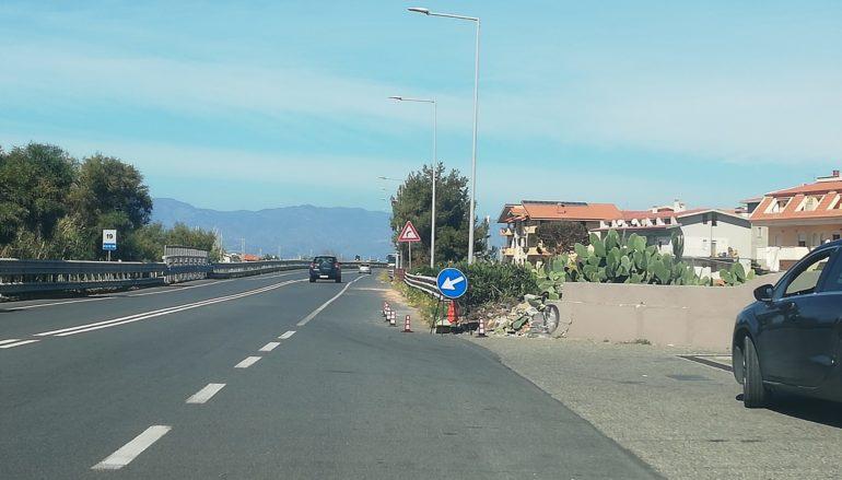 Problematiche istallazione limiti di velocità di 50 KM/h sulla S.S. 106 Jonica