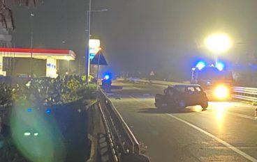 Incidente a Lazzaro nella notte. Ennesimo sulla SS 106