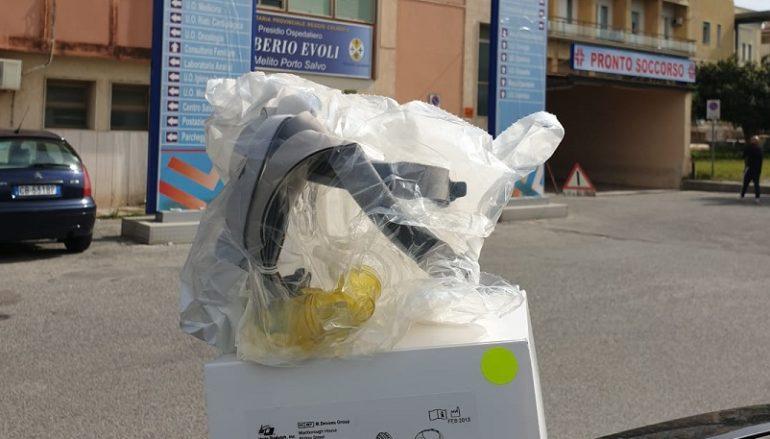 Pro Loco Motta SG dona maschere all'Ospedale di Melito Porto Salvo