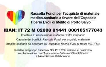 Gruppo Facebook a sostegno dell'Ospedale di Melito Porto Salvo