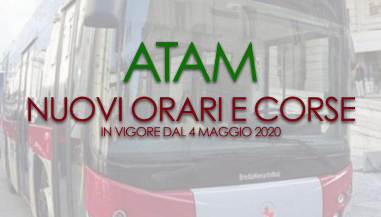 ATAM Reggio Calabria, nuovi orari e corse dal 4 Maggio 2020