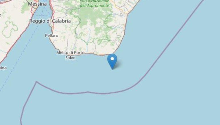 Calabria, Scossa di terremoto al largo di Palizzi