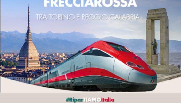 Frecciarossa Reggio-Torino, tutto esaurito in entrambe le direzioni