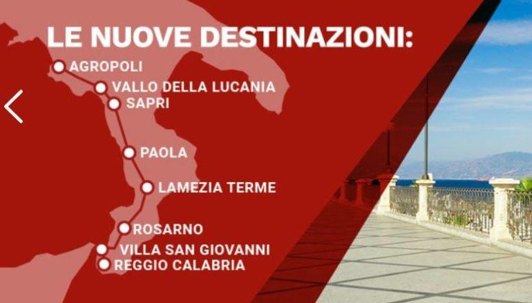 Italo Torino-Reggio Calabria, gli orari e le novità