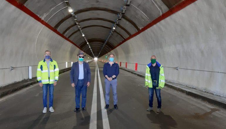 Terminato adeguamento illuminazione gallerie nel comune di Bova Marina