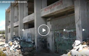 Palazzetto dello Sport di Melito Porto Salvo, interviene Striscia la Notizia