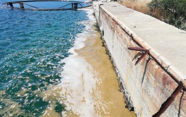Sostanze di indecifrabile natura nelle acque del porto di Saline Joniche