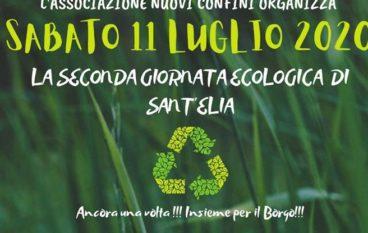 Organizzata la seconda giornata ecologica presso la borgata Sant'Elia (Rc)