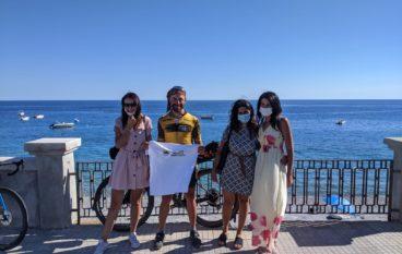 Da Trieste a Melito Porto Salvo, l'impresa in mountain bike di Paolo Laureti