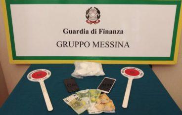 Giovane melitese arrestato a Messina con mezzo chilo di cocaina