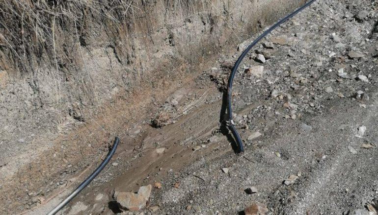 Danneggiata condotta idrica a Montebello Jonico. La denuncia del sindaco