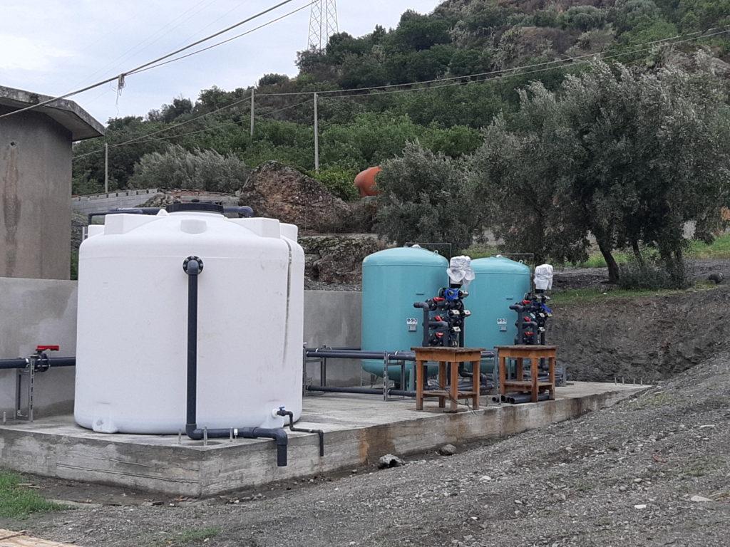 impianto depurazione masella