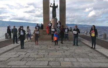 Reggio Calabria, flashmob per dire no alla guerra nell'Artsakh/Nagorno-Karabakh