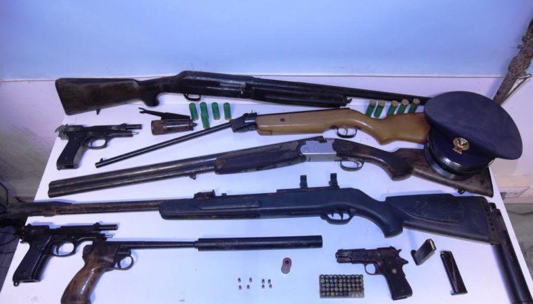 Arresti del commissariato di Condofuri per detenzione armi e stupefacenti