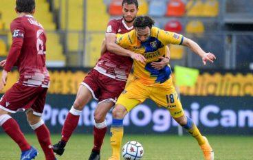 Frosinone – Reggina: A Folorunsho risponde Tabanelli