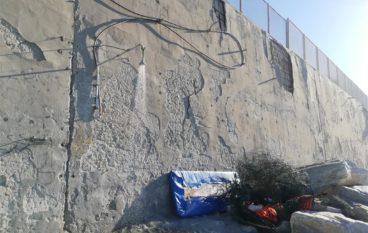 Melito Porto Salvo (RC), situazione muro stazione ferroviaria