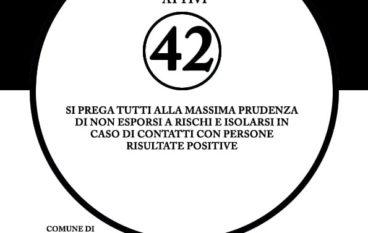 Coronavirus a Montebello Jonico, numero dei positivi al 26 Marzo 2021