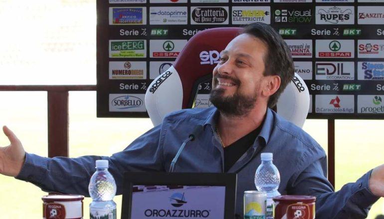 Reggina: Il presidente Luca Gallo in conferenza stampa