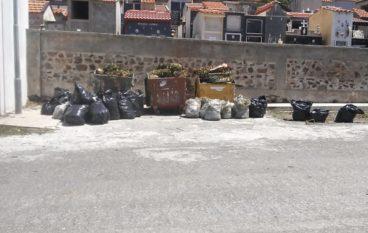 Giornata ecologica a Fossato Jonico, ripulito il cimitero