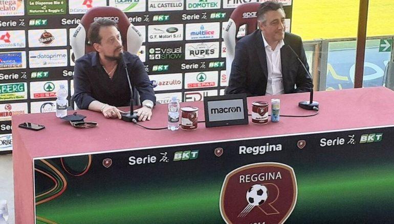 Reggina, Aglietti: Il neo tecnico amaranto si presenta