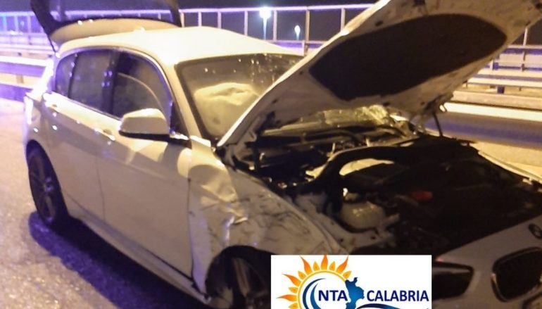 Incidente a Reggio Calabria nei pressi del porto. Le foto