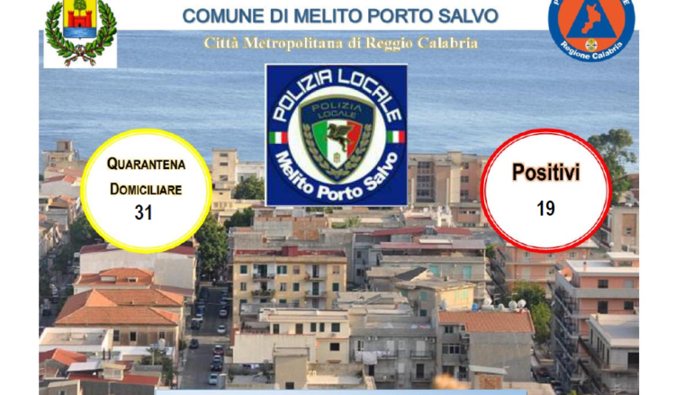 Coronavirus a Melito Porto Salvo, bollettino 16 Luglio 2021