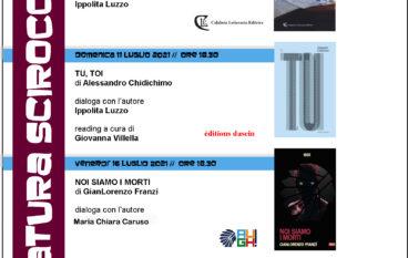 Letteratura Sciroccata, edizione estate 2021