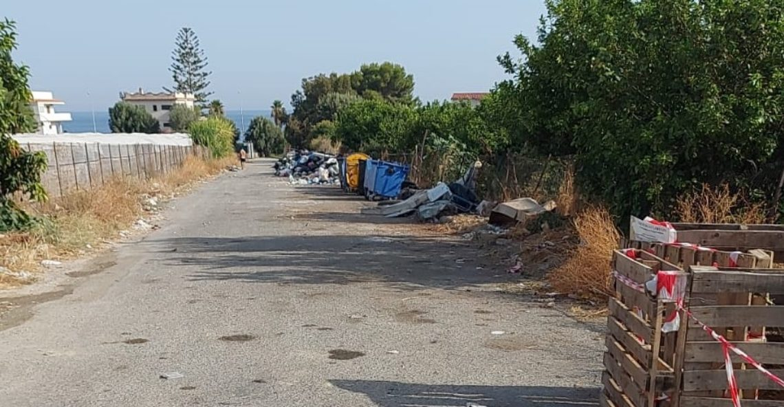Effettuata bonifica suolo pubblico territorio di San Lorenzo