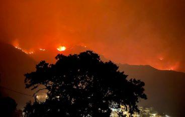Incendio Area Grecanica, due vittime a San Lorenzo