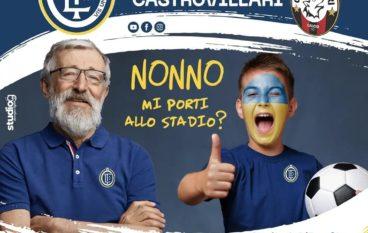 Calcio: Iniziativa della Fc Lamezia per la festa dei nonni