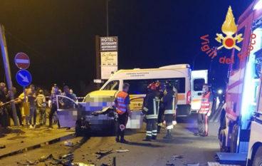 Tragico incidente a Sellia Marina sulla Statale 106, due vittime