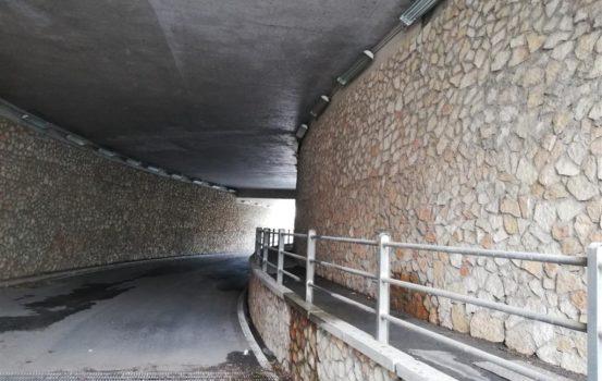 Criticità del sottovia stradale al Bivio per Bocale. Necessita verifiche