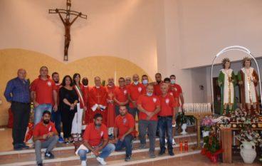 Masella (Rc), restaurate le statue dei Santi Cosma e Damiano