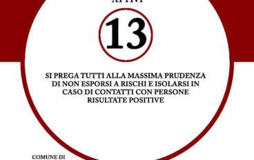 Coronavirus a Montebello Jonico, torna l'incubo: 13 le persone positive