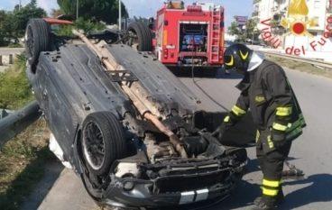 Rende, scontro sulla strada provinciale tra due auto: quattro feriti
