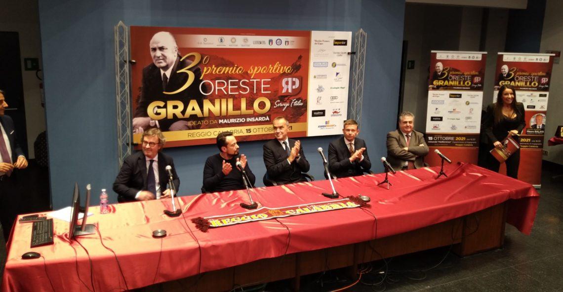 Reggio Calabria: A Balata Baronio e Gallo il premio Oreste Granillo
