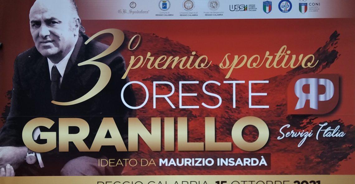 Terza edizione del premio sportivo Oreste Granillo: L'intervista